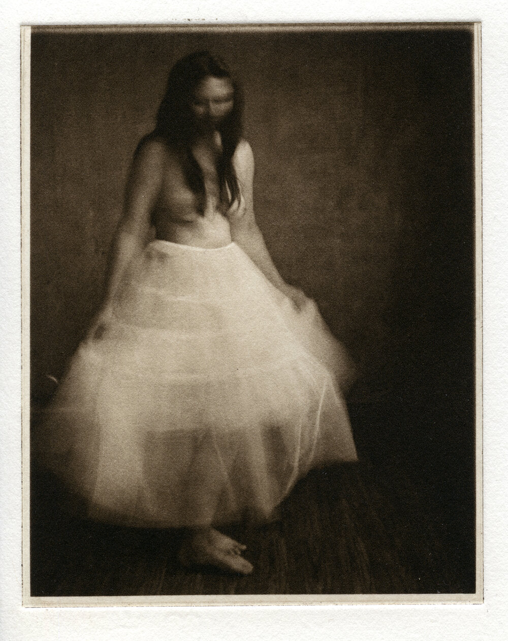 Polymer Photogravure - Dancing in a dream