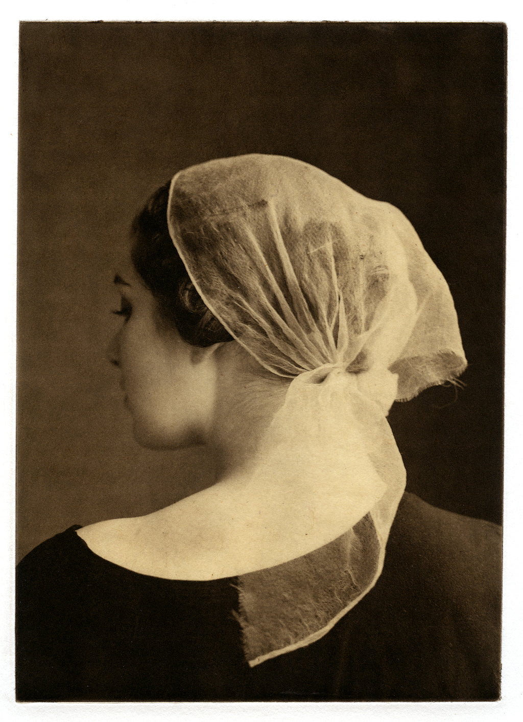 Coiffure   - Polymer photogravure print - Edition 2021