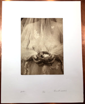Fledge   - Polymer photogravure print - Edition 2021