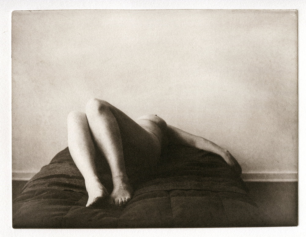 Polymer photogravure - reclined nude