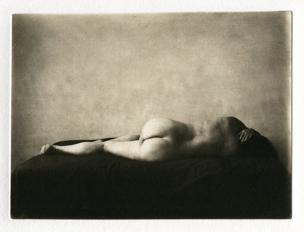 Polymer Photogravure - Nude back