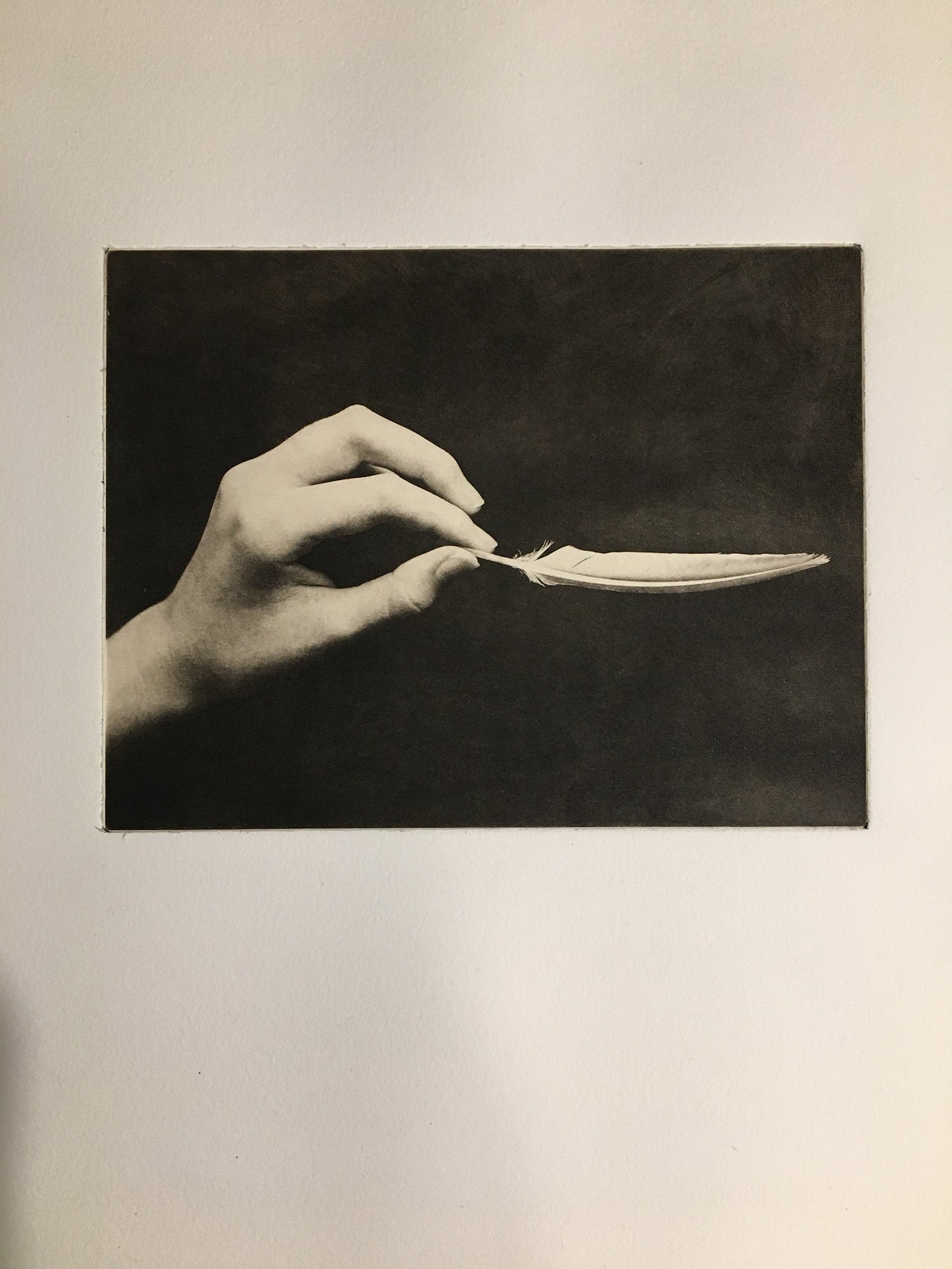 Lighten   - Polymer photogravure print - Edition 2021