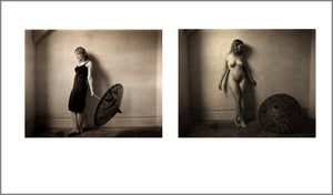 Nude with Parasol diptych