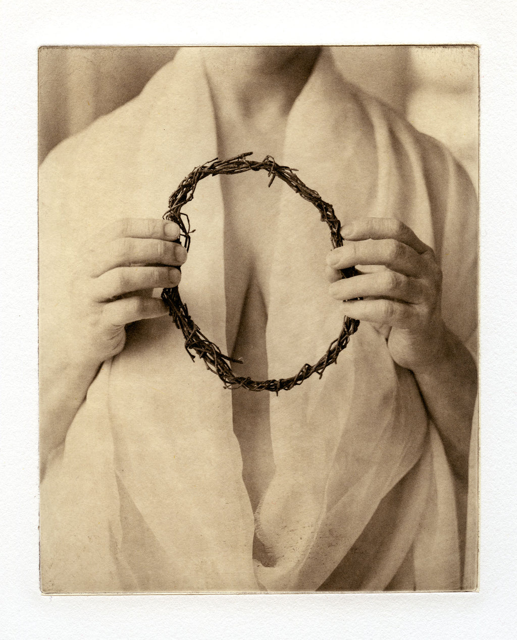 The circle  - Polymer photogravure print - Edition 2021