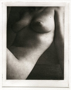 "Polymer photogravure "" Seated nude"""