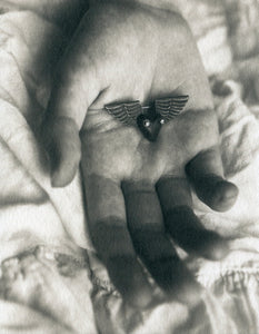Winged heart - Polymer photogravure