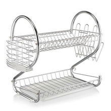 Load image into Gallery viewer, 2 Layer Dish Rack