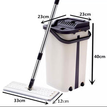Load image into Gallery viewer, Flat Squeeze Mop Bucket