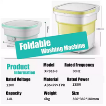 Load image into Gallery viewer, Foldable Washing Machine