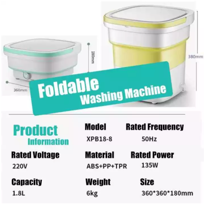 Foldable Washing Machine