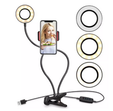 Load image into Gallery viewer, Ring Light (small) with Cellphone Holder
