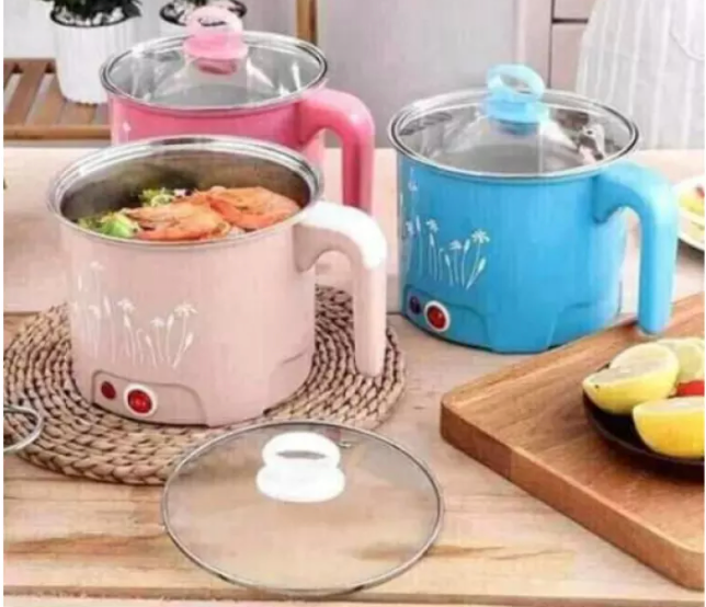 Electric Stainless Steel Hotpot (random color)