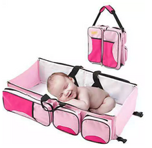 Load image into Gallery viewer, 3 in 1 baby diaper bag