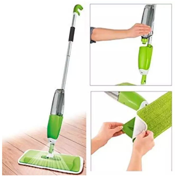 Flat Mop with Water Spray