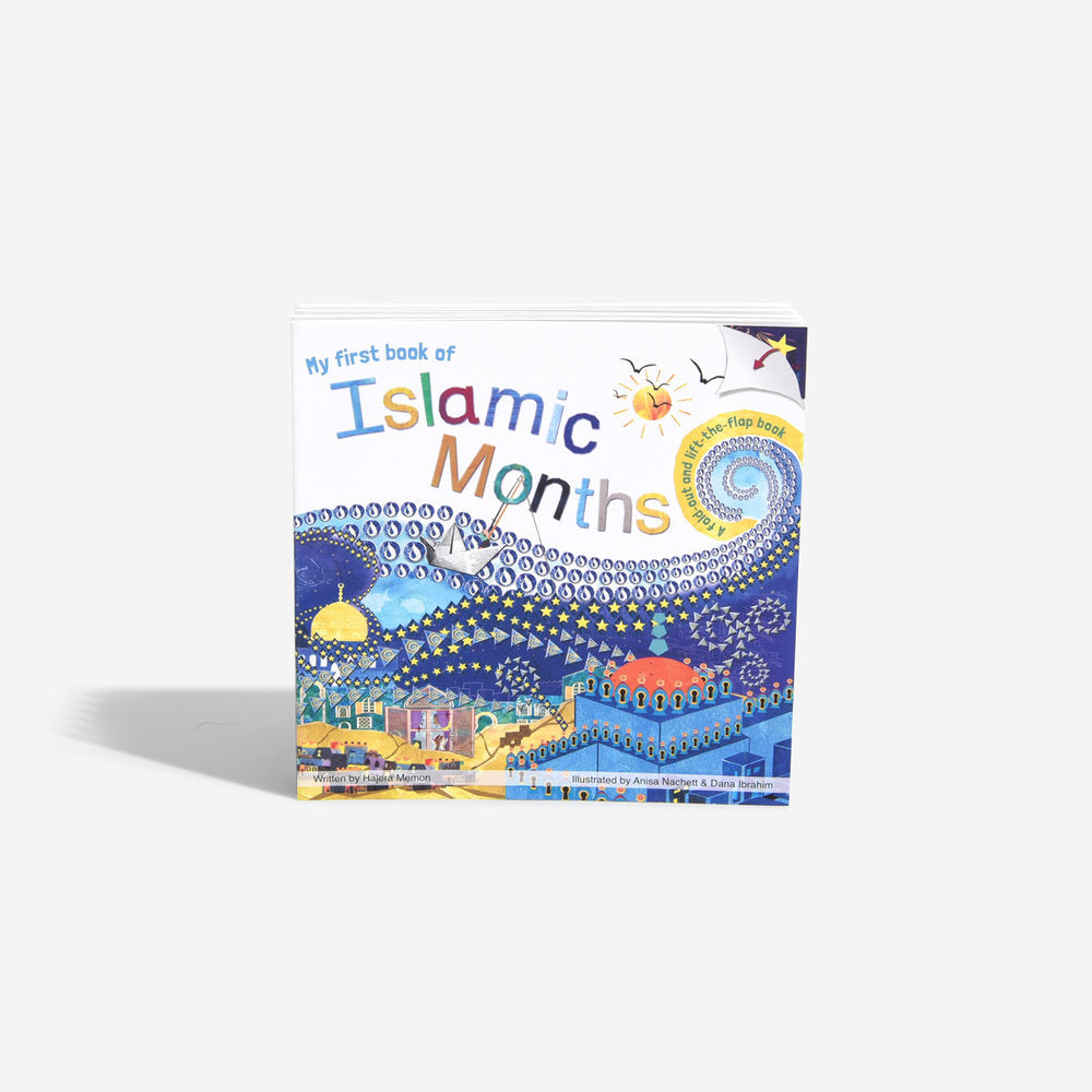 islamic months baby board book