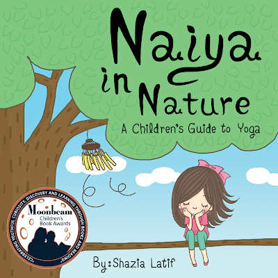 When Naiya wakes up to her busy, loud surroundings, she decides to escape into nature!  In this book, Naiya teaches you seven beginner yoga poses, to breathe and, most importantly, to smile!