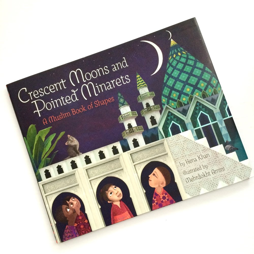 crescent moons muslim book of shapes