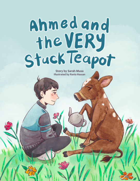 ruqayyah's bookshelf ahmed and the stuck teapot muslim kid stories