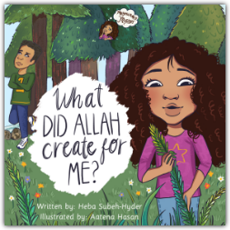 "Join little Maymunah in the book series, ""Maymunah's Musings,"" on her many quests as she gets to know Allah, subhanahu wa ta'ala, through His names and attributes! In the second book of the series, ""What Did Allah Create For Me,"" Maymunah and her brother, Malik, are visiting family for their fun-filled annual Cousins' Week. Maymunah is mesmerized by Allah's wonderful creation on this camping trip, but there's one thing troubling her: what's wrong with Malik? Why isn't he enjoying Cousins' Week as much as sh"