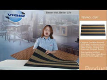 Load and play video in Gallery viewer, Heavy Duty Doormat, Indoor Outdoor, Waterproof, Easy Clean, Low-Profile Mats