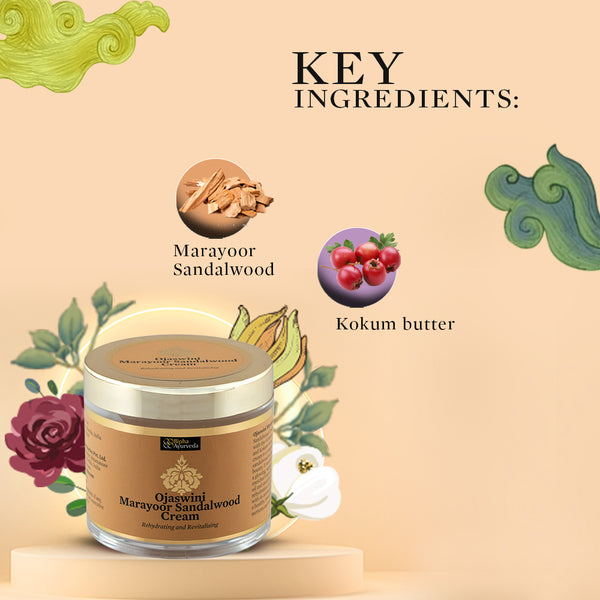 Ojaswini Marayoor Sandalwood Cream 75 gm