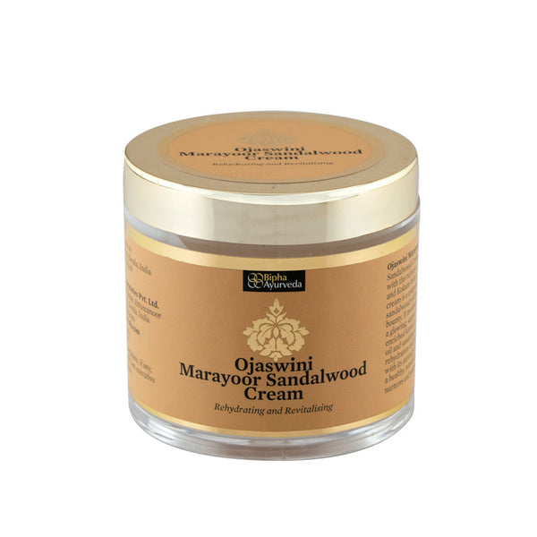 Ojaswini Marayoor Sandalwood - re-hydrating and revitalizing cream
