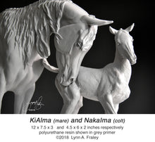 Load image into Gallery viewer, KiAlma and NakaIma, mare & foal set, cast-to-order deposit