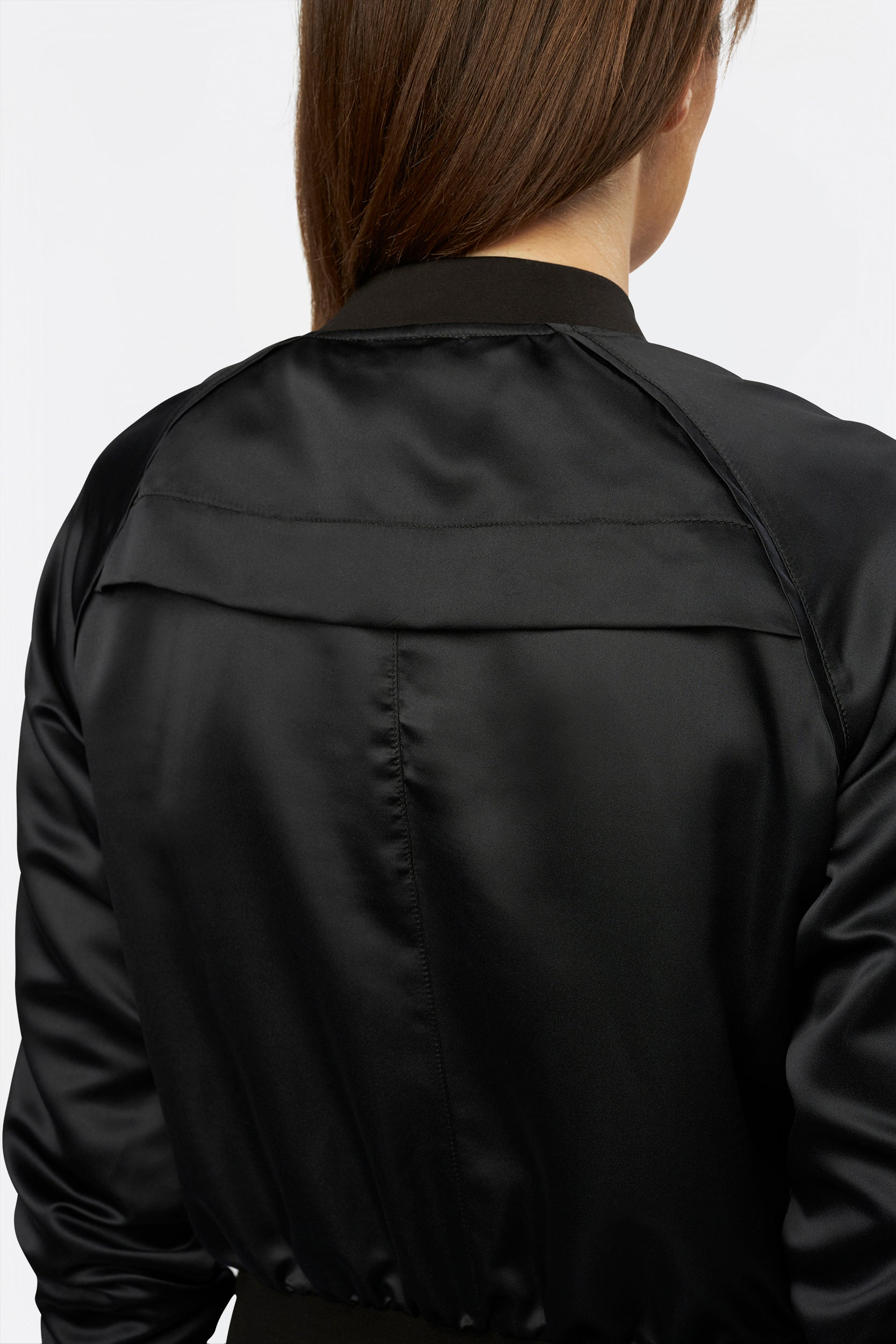 Beauty Bomber Jacket by INLARKIN blends sporty with sassy