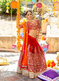 Sabina Red Bridal