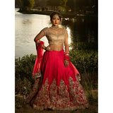 wedding event lehenga