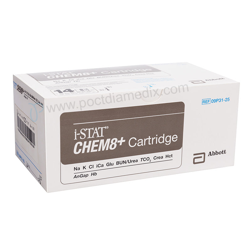 i-STAT CHEM8+ Cartridge - Poctdiamedix Technology Co.,Ltd.