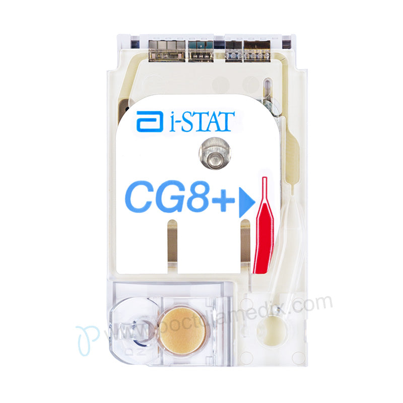 i-STAT CG8+ Cartridge - Poctdiamedix Technology Co.,Ltd.