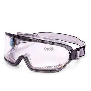 GAIA - CLEAR ANTI-FOG POLYCARBONATE GOGGLES WITH INDIRECT VENTILATION