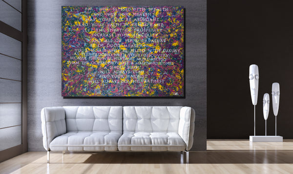 Abundance Archival Canvas Wrap