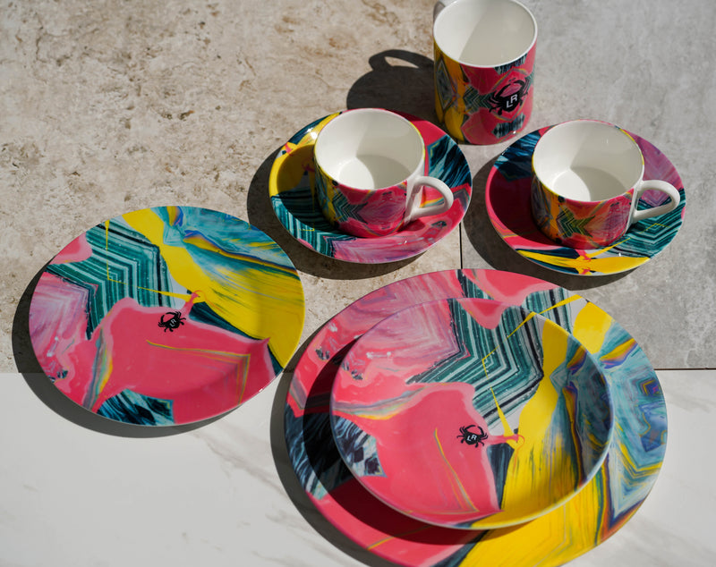 The Frequency Cup and Saucer Set
