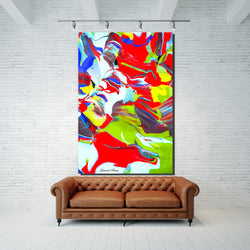 Inside Attraction 10 Archival Canvas Wrap