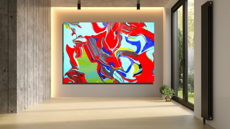 Inside Attraction 13 Archival Canvas Wrap