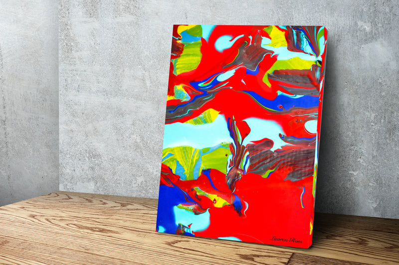 Inside Attraction 15 Archival Canvas Wrap