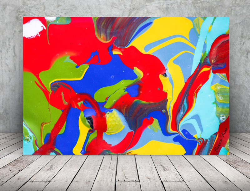 Inside Attraction 19 Archival Canvas Wrap