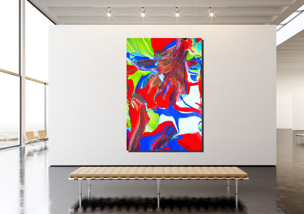 Inside Attraction 3 Archival Canvas Wrap