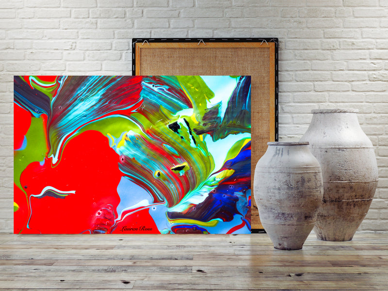 Inside Attraction 5 Archival Canvas Wrap