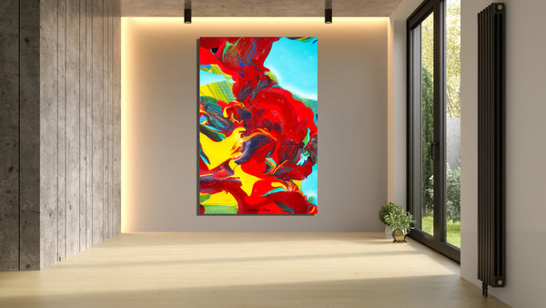 Inside Attraction 7 Archival Canvas Wrap