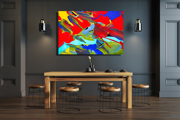 Inside Attraction 8 Archival Canvas Wrap