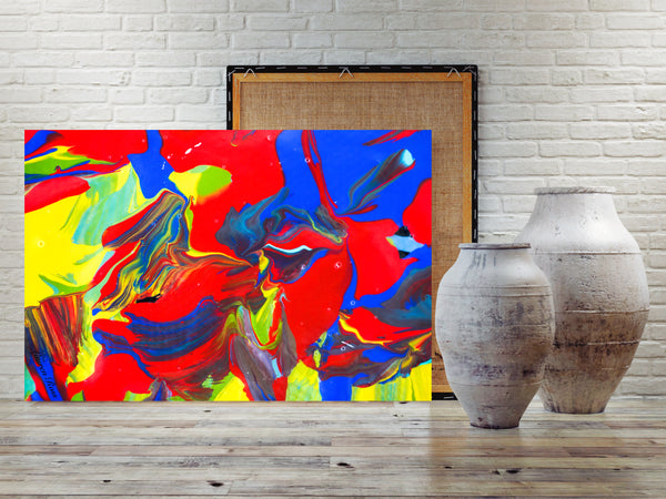 Inside Attraction 9 Archival Canvas Wrap
