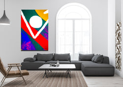Inside Cryptography 3 Archival Canvas Wrap