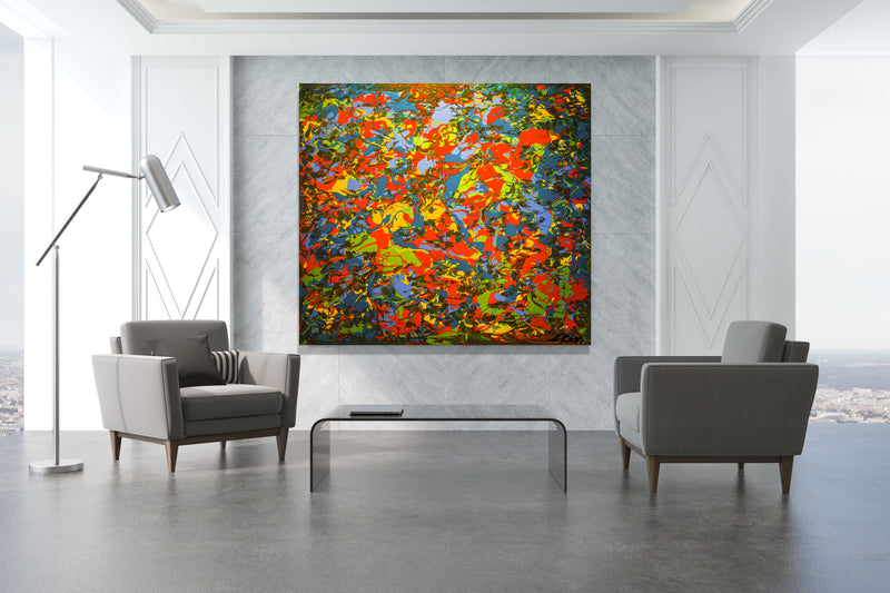 Turbulence Archival Canvas Wrap