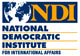 The National Democratic Institute Logo