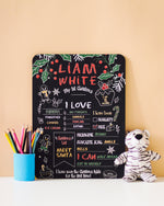 Load image into Gallery viewer, Reusable Chalkboard 1st Christmas