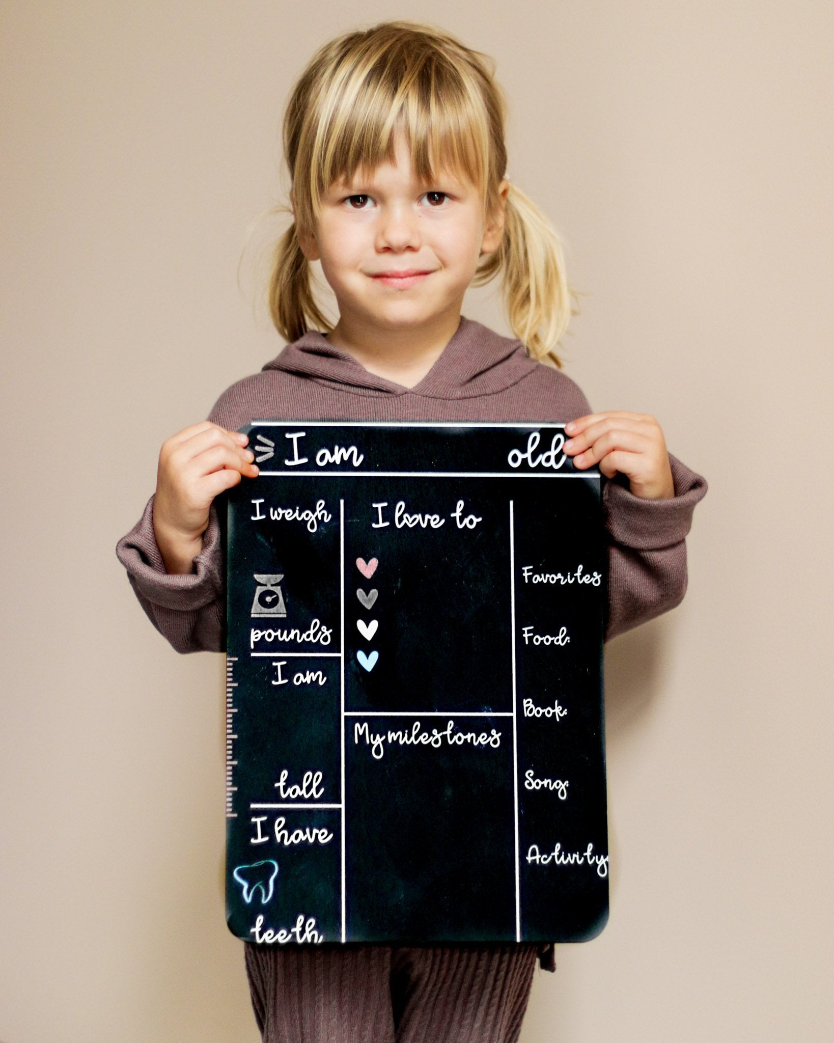 Reusable Chalkboard 1st Christmas