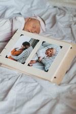 Load image into Gallery viewer, Memory Wooden Baby Book